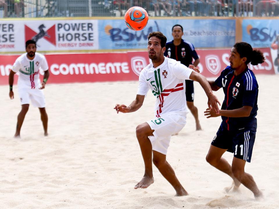 Sp. Braga: título nacional e Liga dos Campeões na estreia na praia