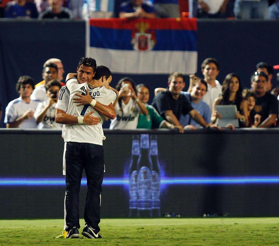 Cristiano Ronaldo escreve carta a defender adepto invasor