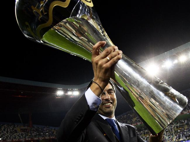 FC Porto celebra vitória da Super Taça (LUSA)
