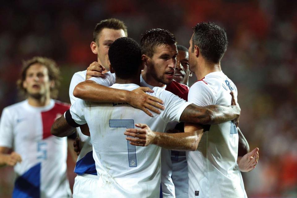 Mundial 2014: Holanda é a primeira seleção europeia apurada