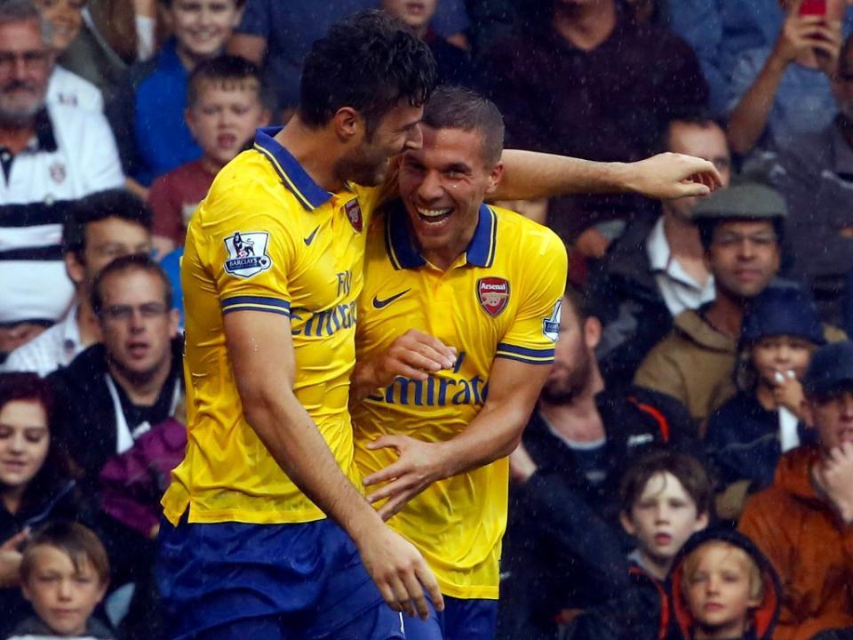 Arsenal: Podolski de fora três meses