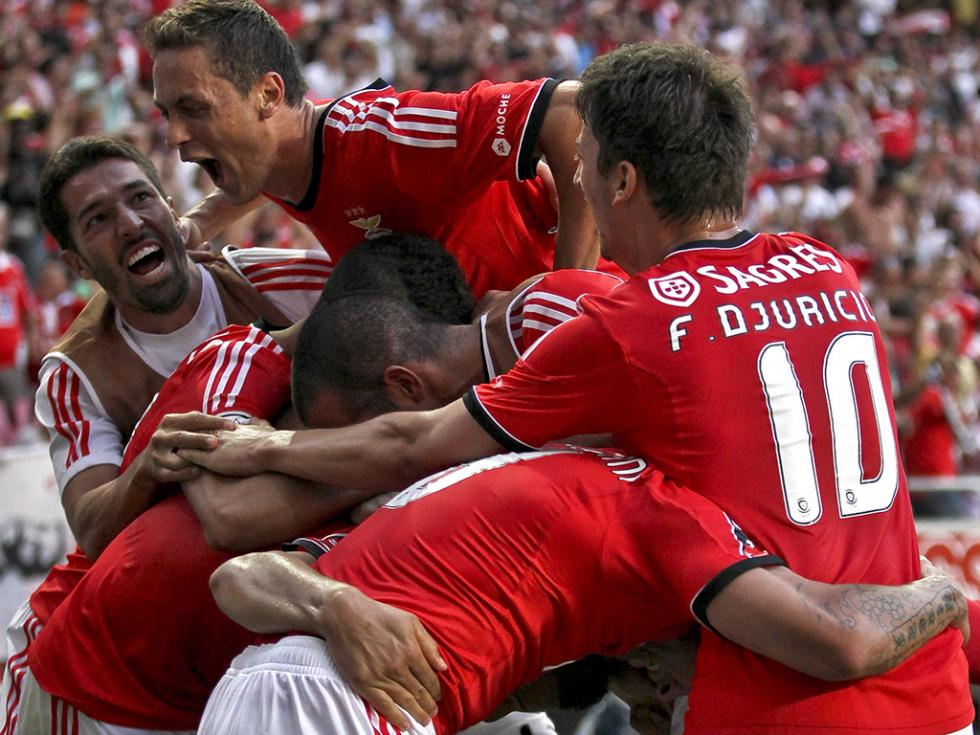 Benfica vs Gil Vicente (MARIO CRUZ/LUSA)