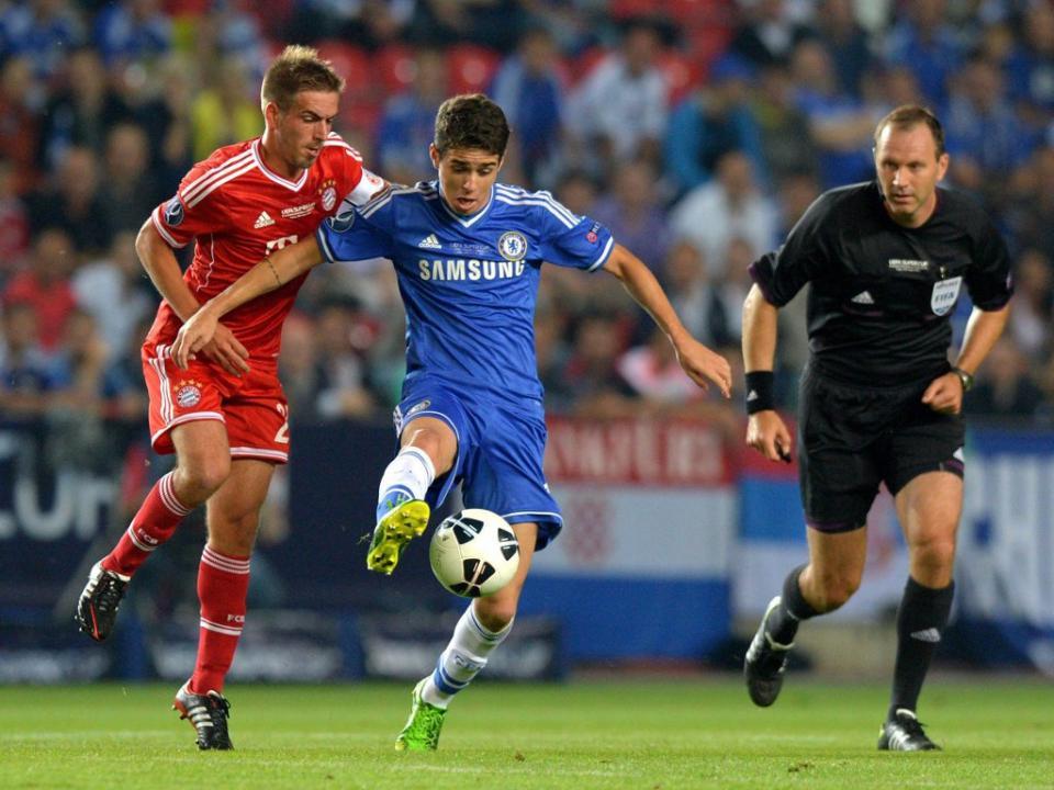 Oscar encantado com Mourinho