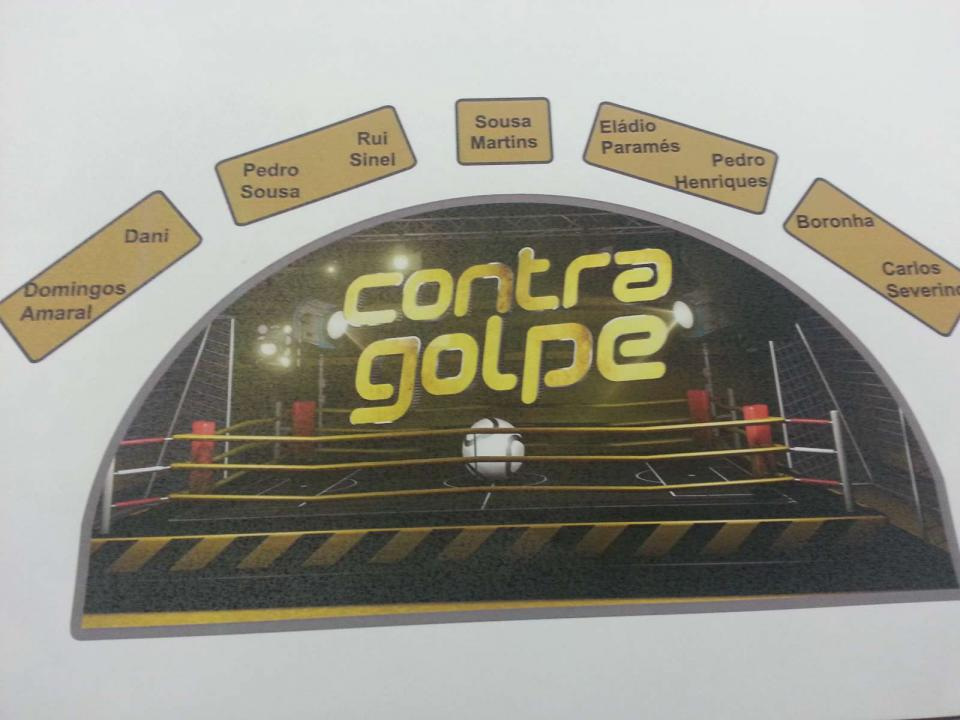 «Contragolpe»: novo programa de desporto na TVI24