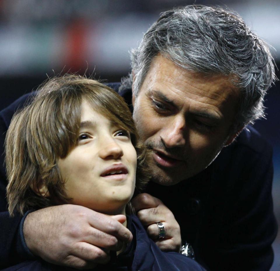 Filho de Mourinho no Fulham