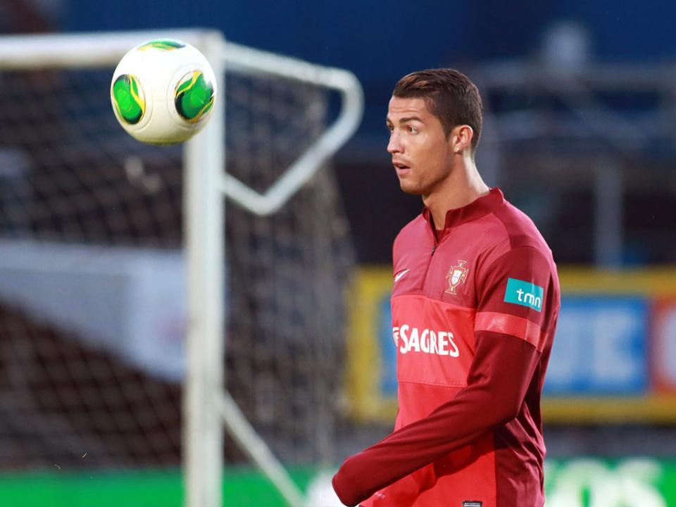 Ronaldo, primeiro «hat trick» pela Seleção: «É especial»