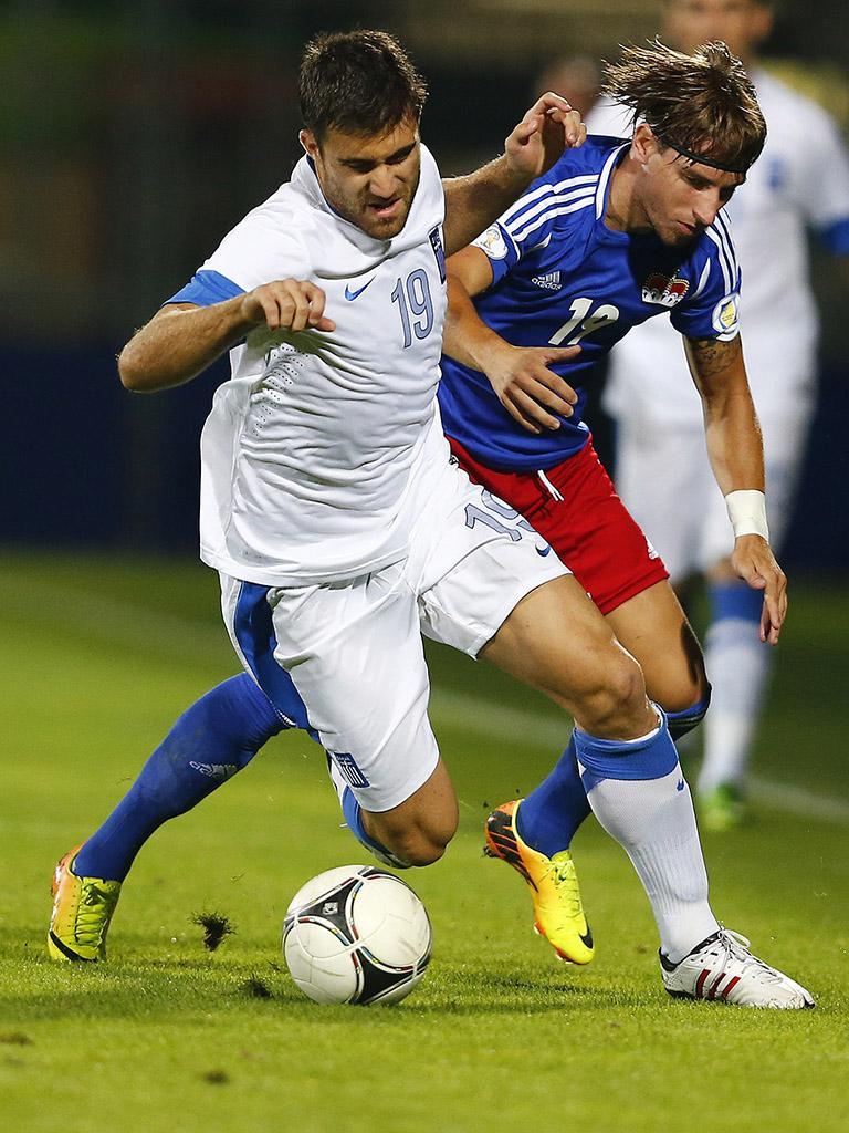 Mundial-2014: Grécia de Fernando Santos venceu Letónia (1-0)