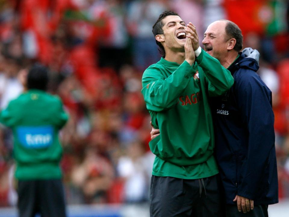 Rússia'2005, Ronaldo para Scolari: «Eu vou jogar, professor»