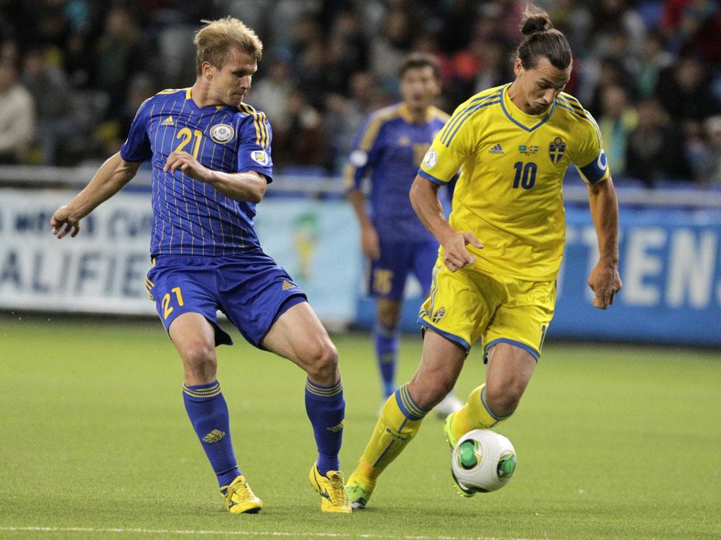 Cazaquistão vs Suécia (REUTERS)