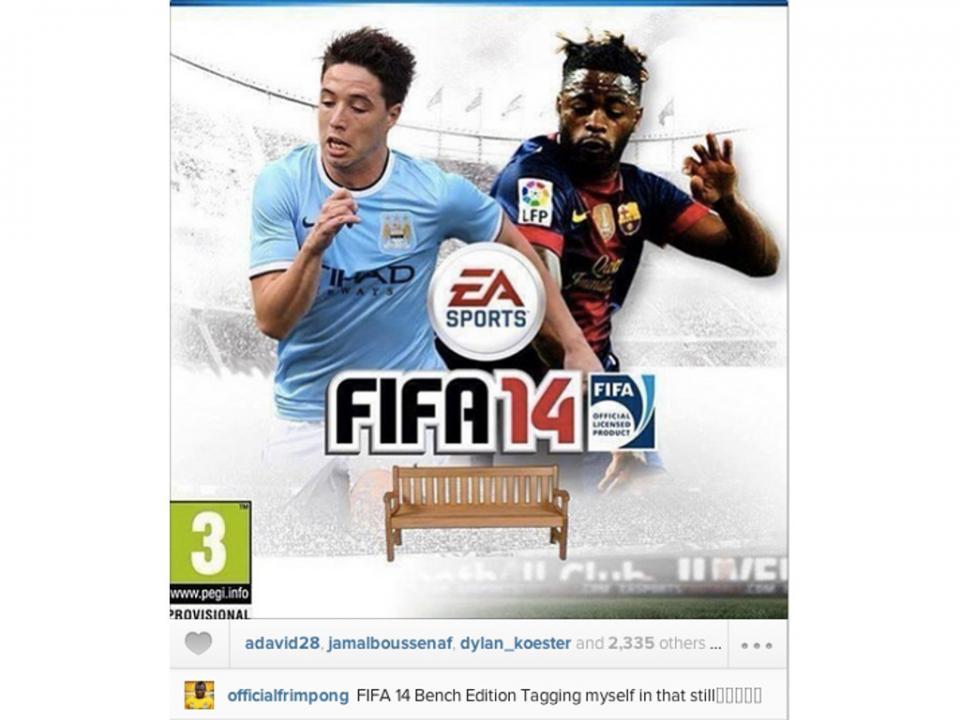 Já conhece a «edição do banco do FIFA 14?»
