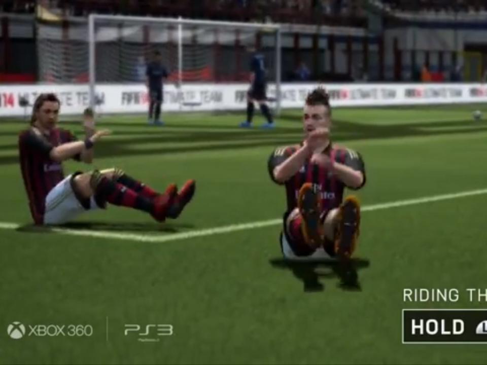 FIFA 14: esqueça os golos, festejá-los é que tem piada