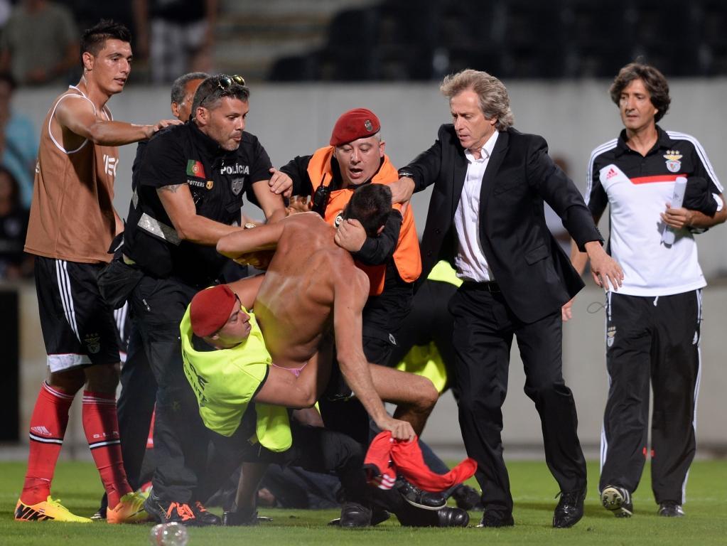 Benfica: que castigo arrisca Jorge Jesus?