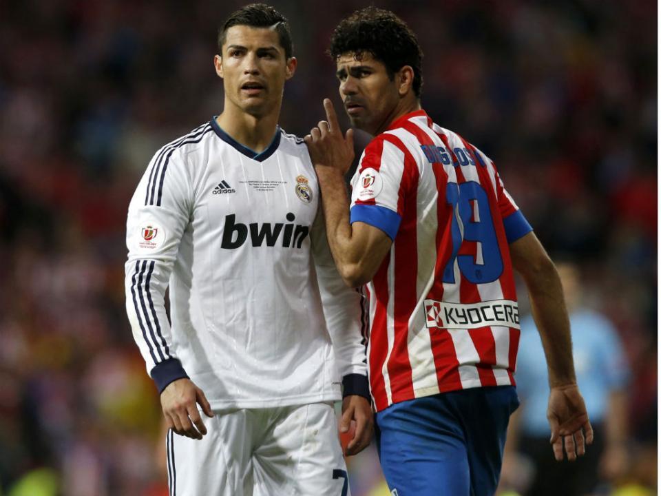 Diego Costa elogia Ronaldo: «Oxalá contra nós não esteja bem»