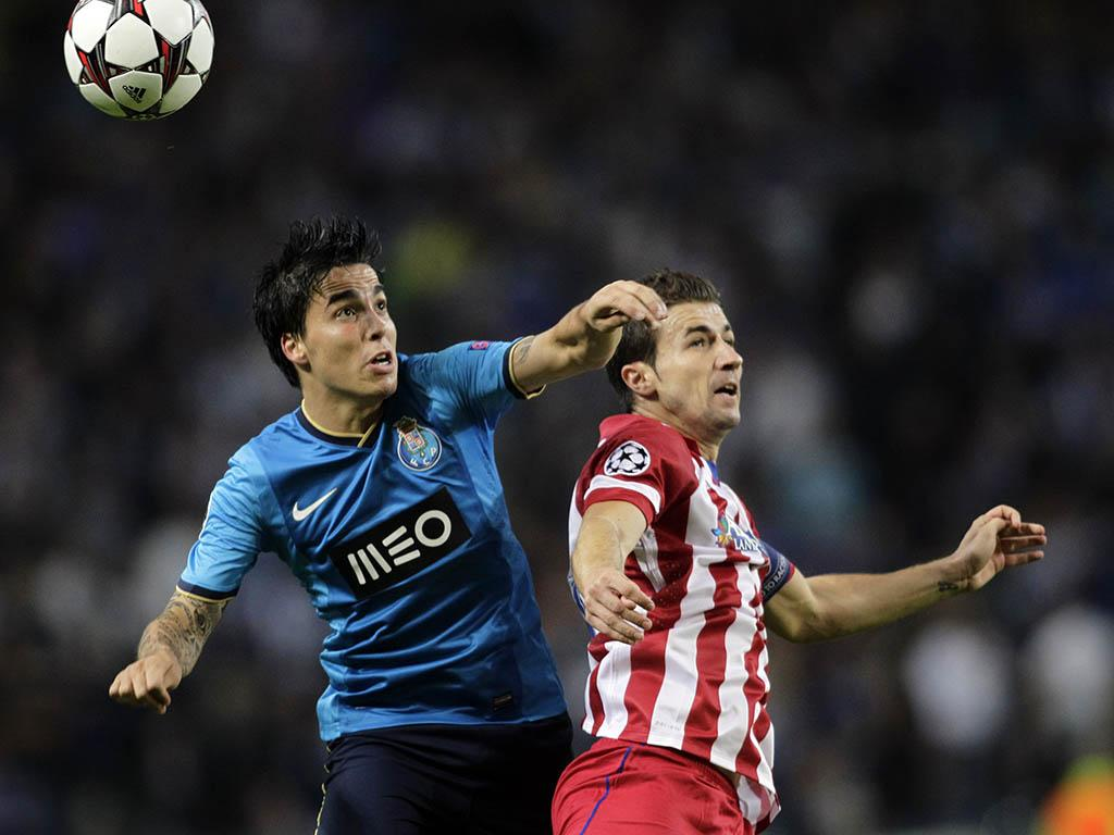 FC Porto vs Atlético Madrid (REUTERS)
