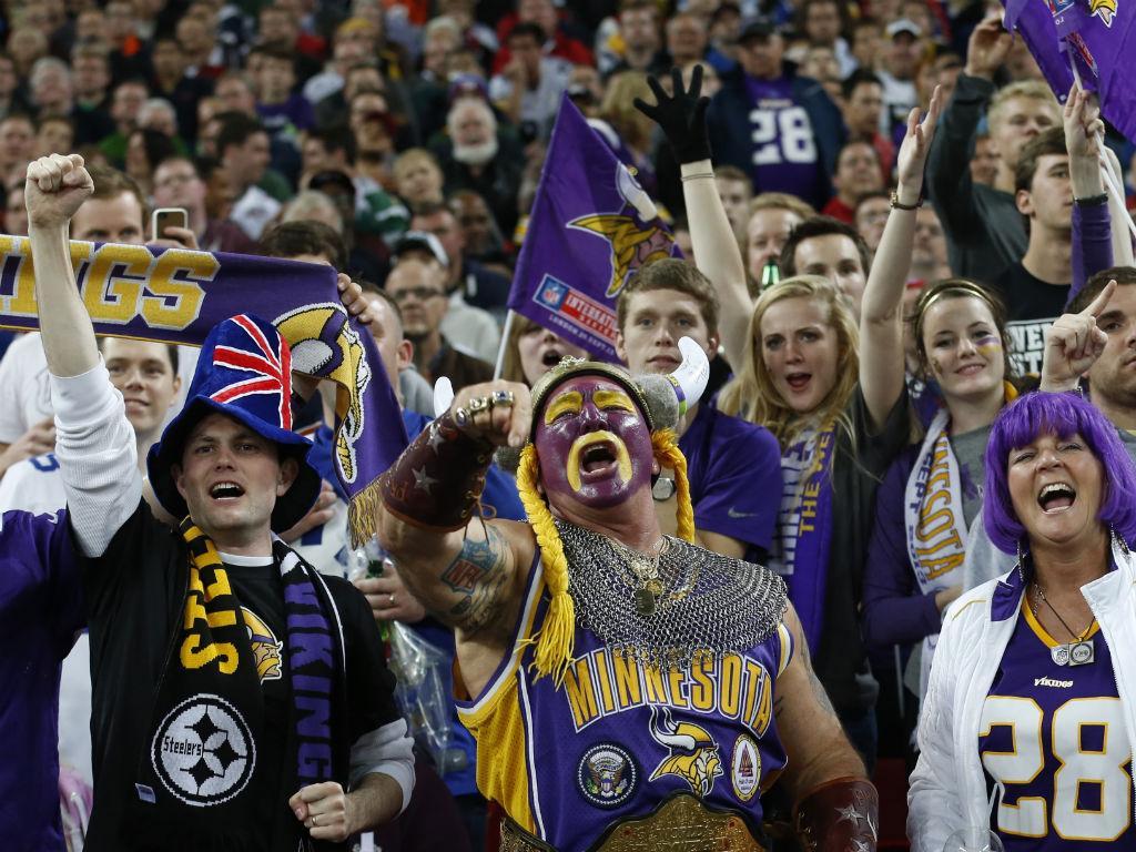 NFL: um espetáculo à americana em Wembley