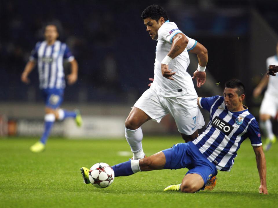 FC Porto-Sp. Braga (onzes): Defour e Herrera juntos