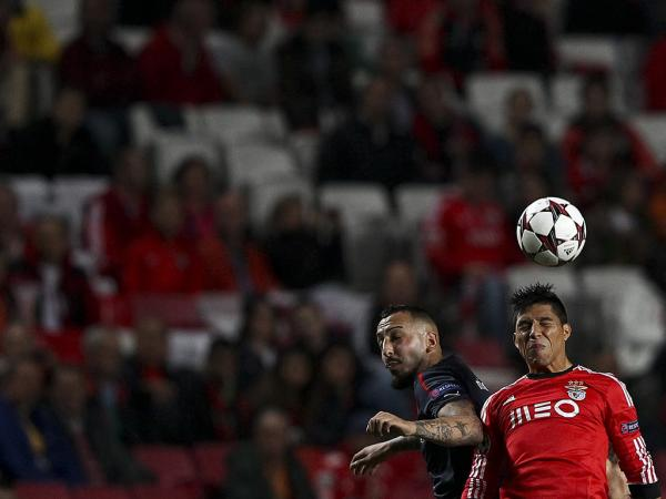 LC: Benfica-Olympiakos, 1-1 (destaques)