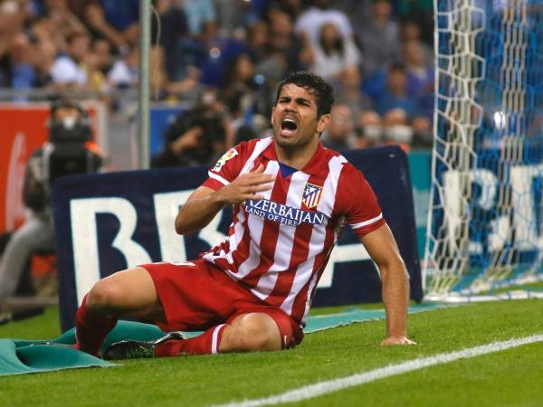 Diego Costa, a fera que não parava de correr em Penafiel ...