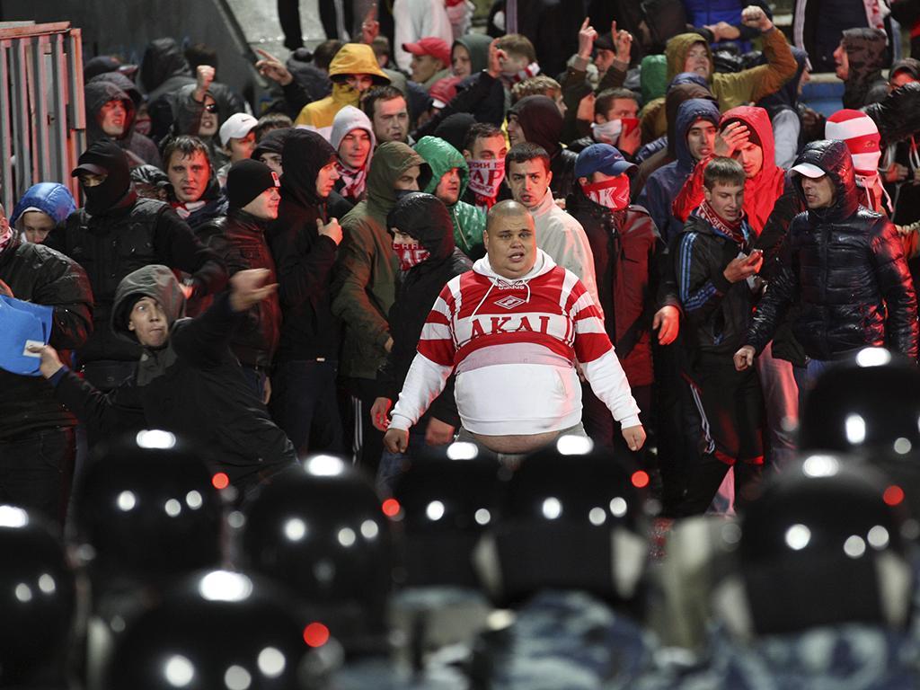 LC: Spartak Moscovo arrisca castigo por lançamento de very light