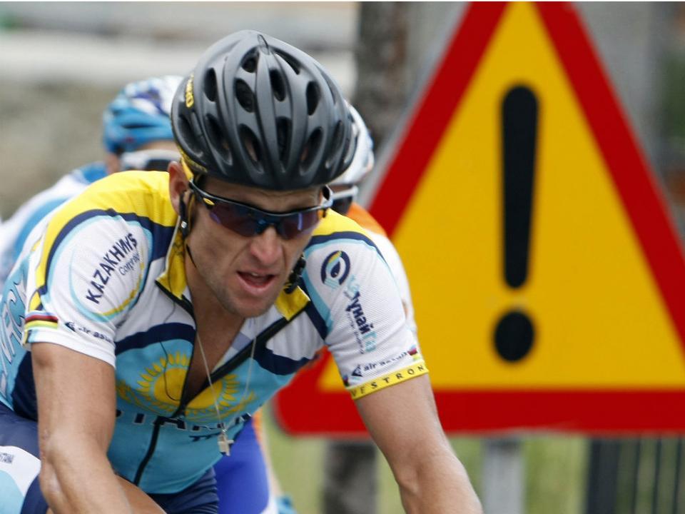 Ciclismo: Lance Armstrong proibido de participar em passeio cicloturista de George Hincapie