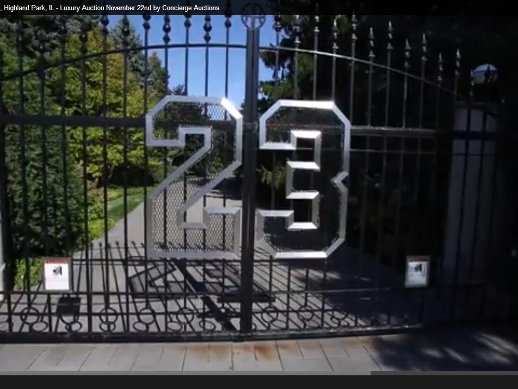 Casa de michael jordan vai a leil o quer conhec la - La casa de michael jordan ...