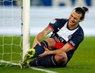Ibrahimovic no PSG-Nice (foto Reuters)