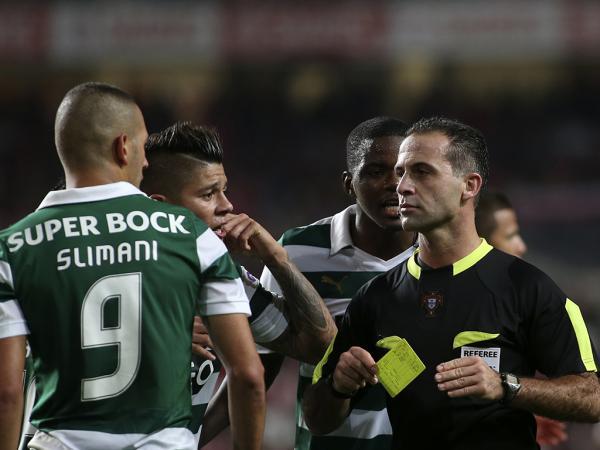 Duarte Gomes expulsou Wilson Eduardo no final do jogo