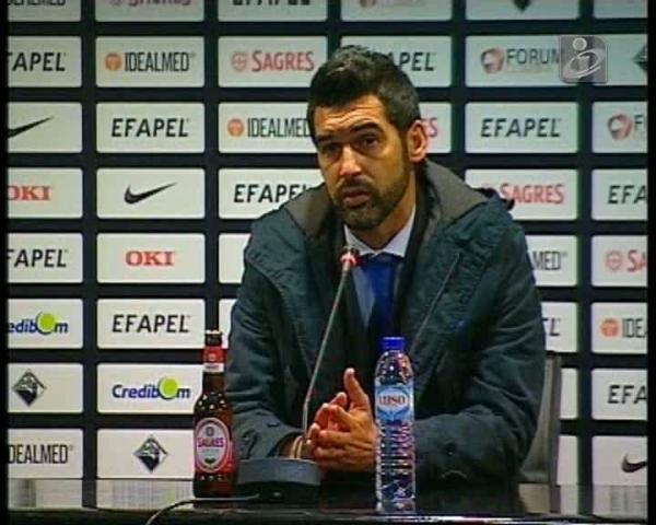 Paulo Fonseca: «Em casa do Sporting, o empate é positivo»