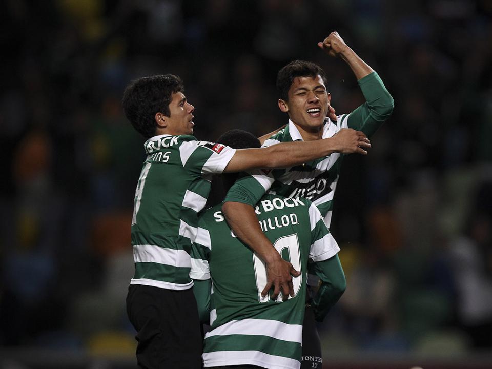 Gil Vicente-Sporting (onzes): Wilson Eduardo titular