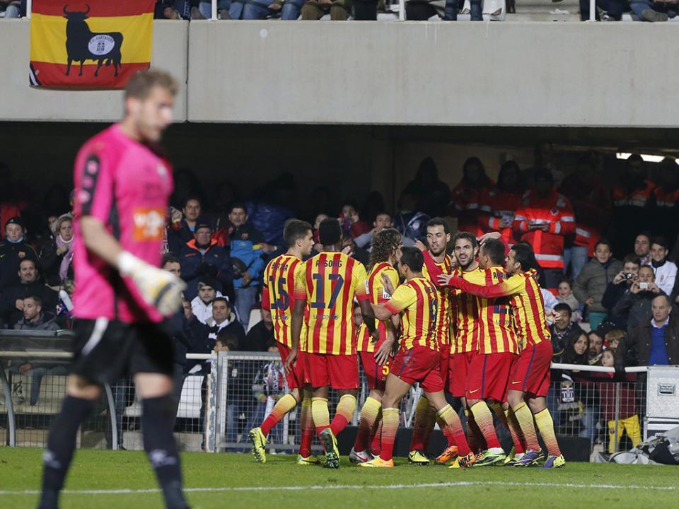 Taça do Rei: Barça vence com golo de mais um jovem de La Masia