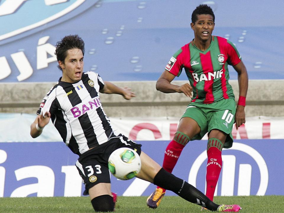 Marítimo-Nacional, 2-2 (resultado final)