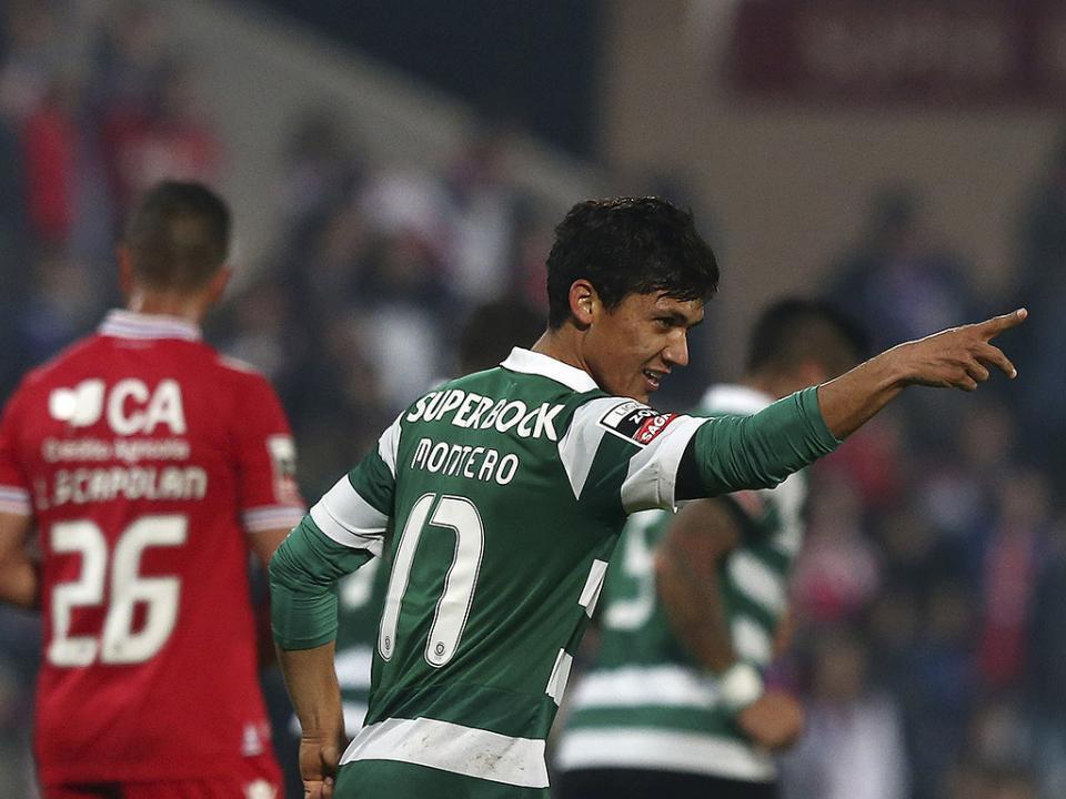 Gil Vicente-Sporting, 0-2 (resultado final)