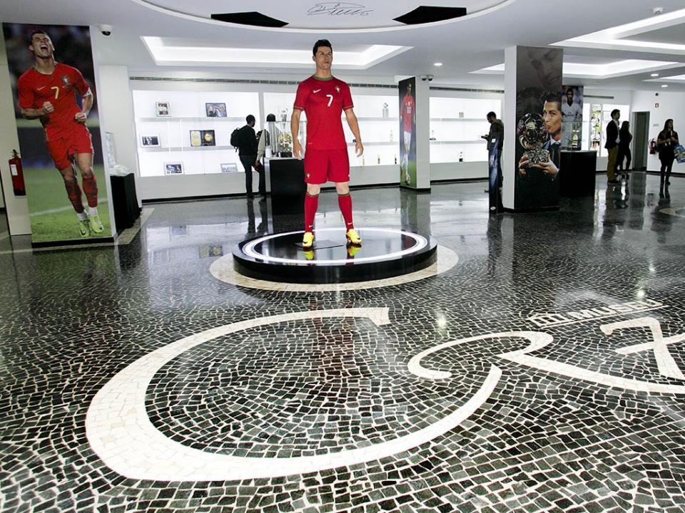 Abriu novo museu de CR7 onde será possível interagir com o craque
