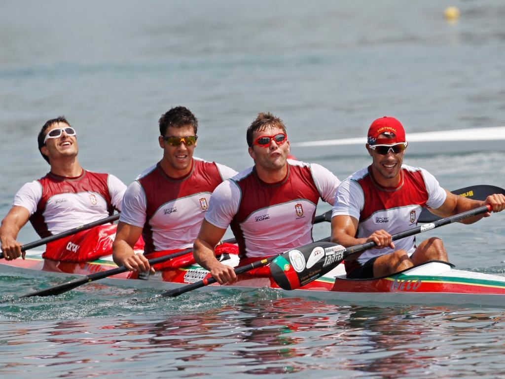Image result for canoagem k4 Portugal team photo
