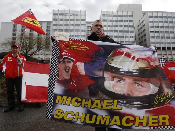 Schumacher: atualização sobre o estado de saúde
