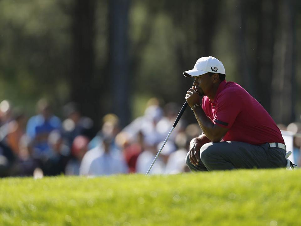 Golfe: Tiger Woods cai para a 1005.ª posição da hierarquia mundial