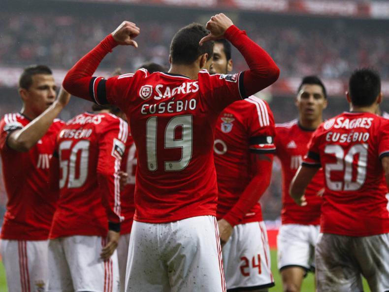Em tarde de homenagem a Eusébio, Rodrigo abriu o caminho para o triunfo / Fonte: Lusa