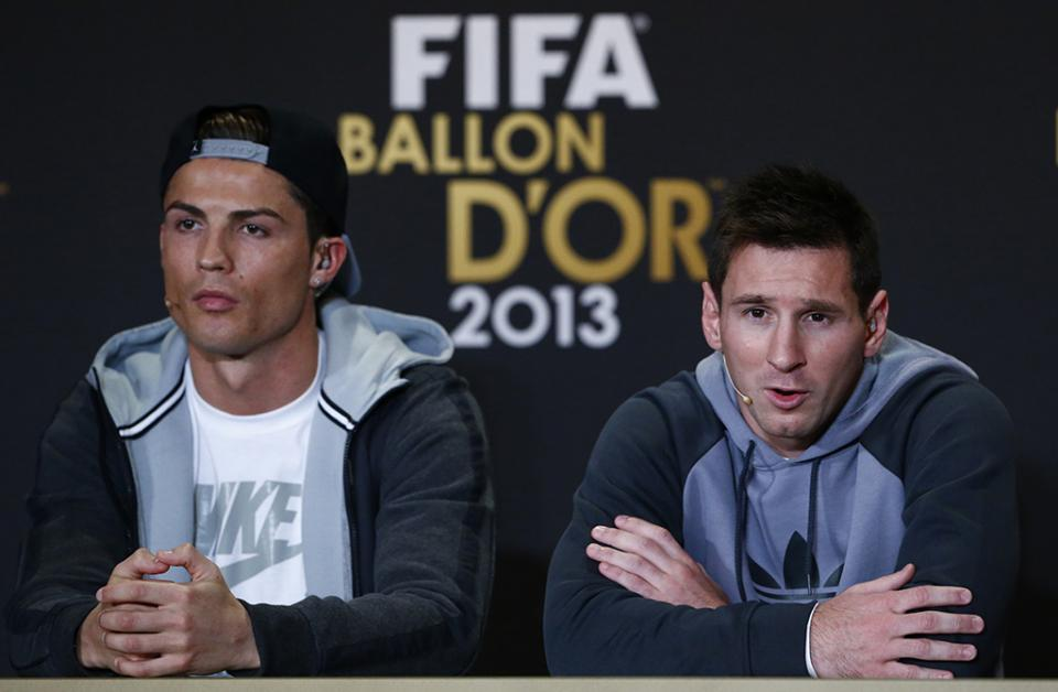 Ronaldo e Messi juntos por uma boa causa