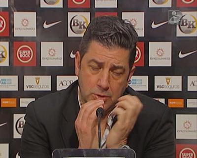Rui Vitória: «Merecíamos os três pontos»