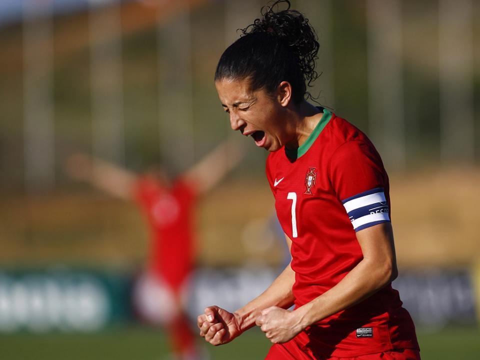 Cláudia Neto de regresso à convocatória da seleção para a Algarve Cup