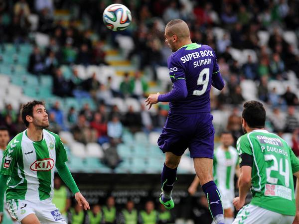 V. Setúbal-Sporting, 2-2 (crónica)