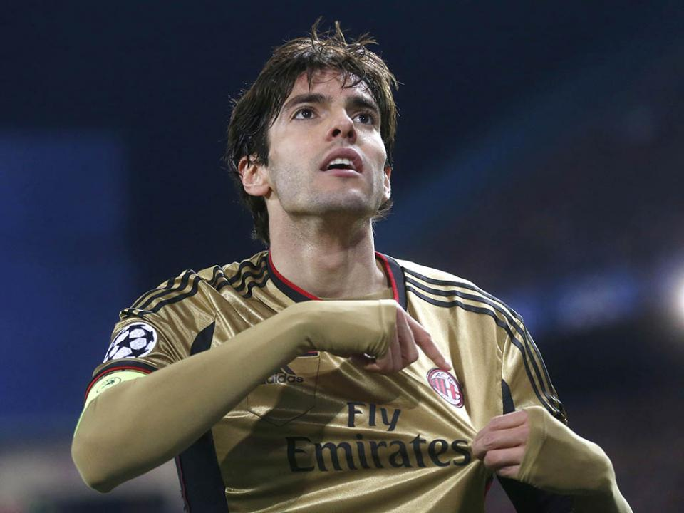 Milan: Leonardo diz que Kaká vai regressar ao clube