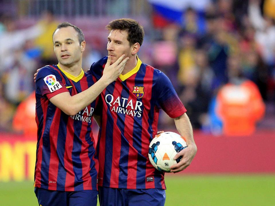 Dores impedem Messi de participar no «adeus» a Iniesta
