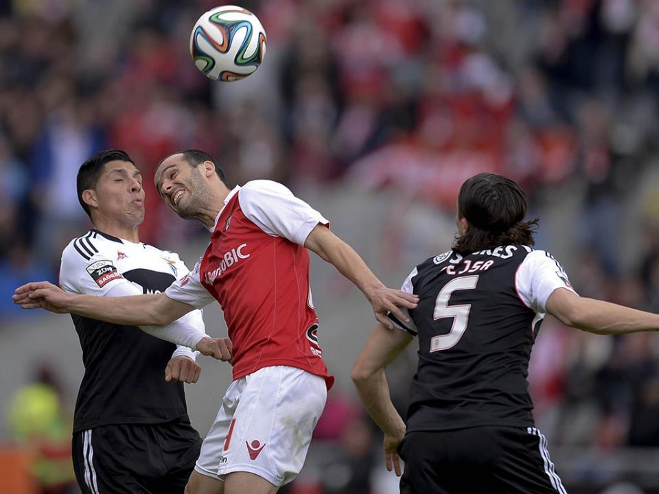 Sp. Braga-Benfica (antevisão): uma questão de intensidade
