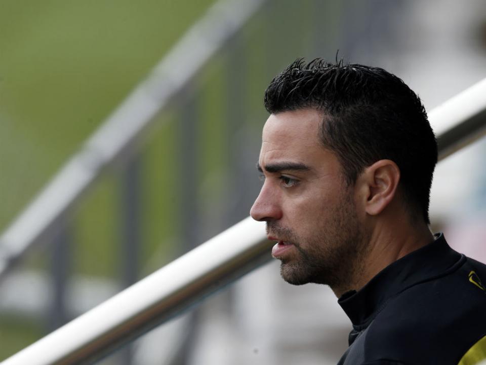 Xavi explica a derrota: «Eles vivem do contra-ataque»