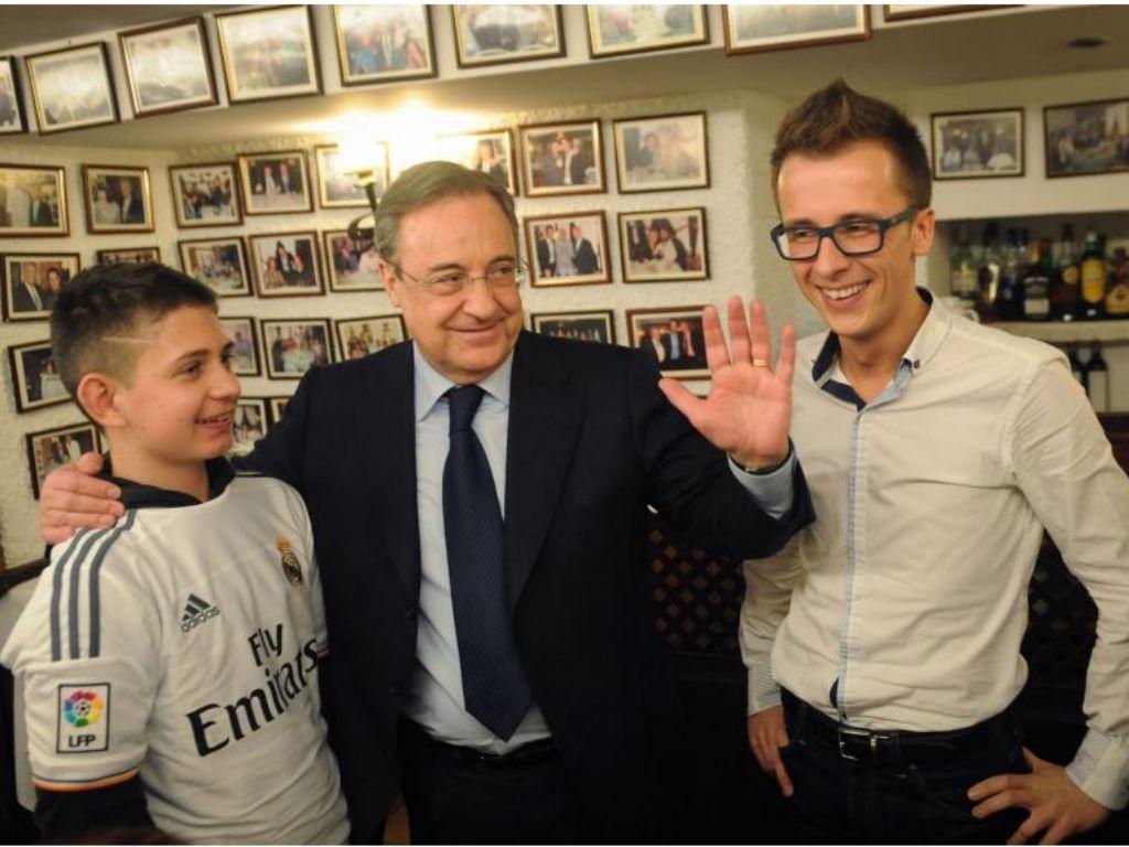 Florentino Pérez reeleito presidente do Real Madrid até 2021