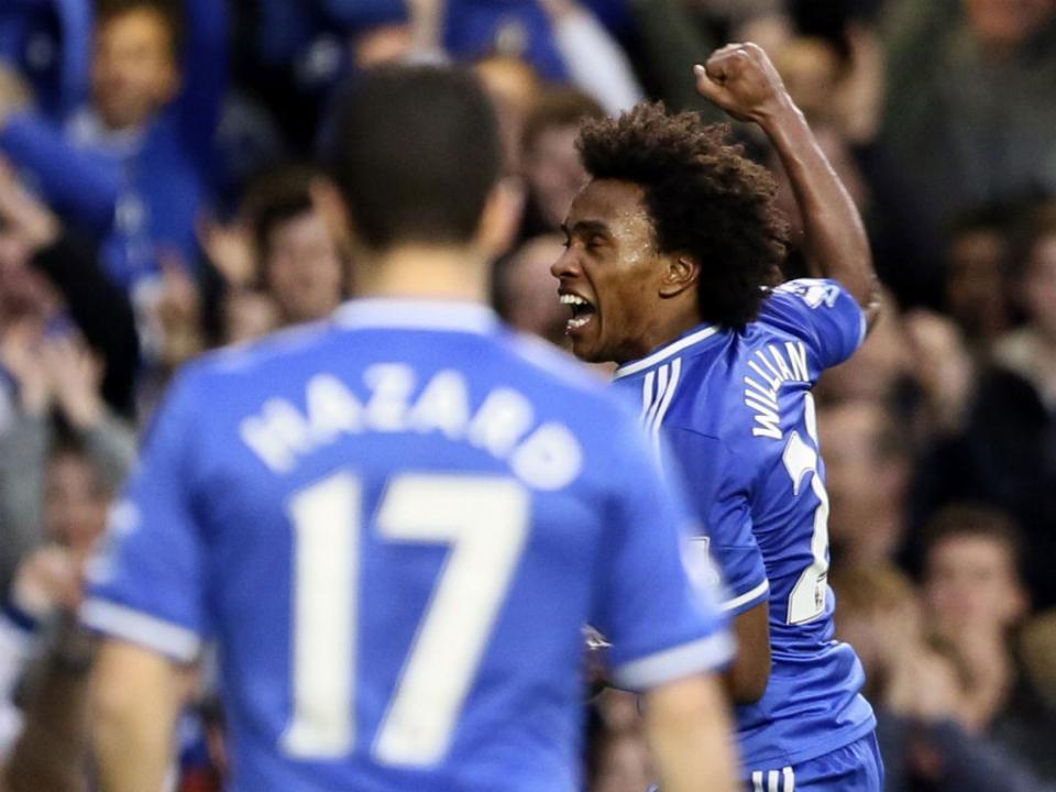 VÍDEO: Chelsea acentua crise do Newcastle com golaço de Willian