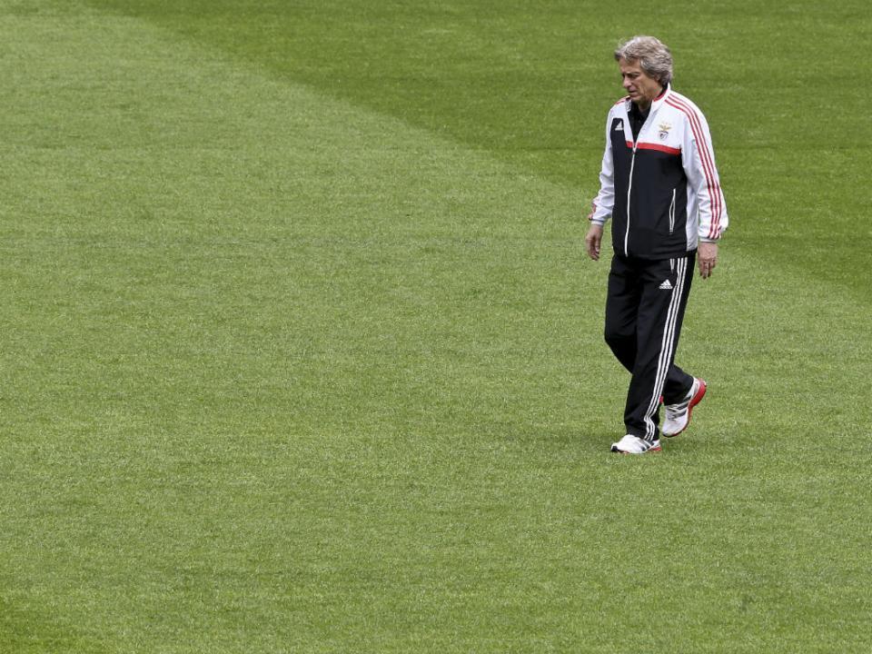 Monaco-Benfica (onzes): André Almeida titular