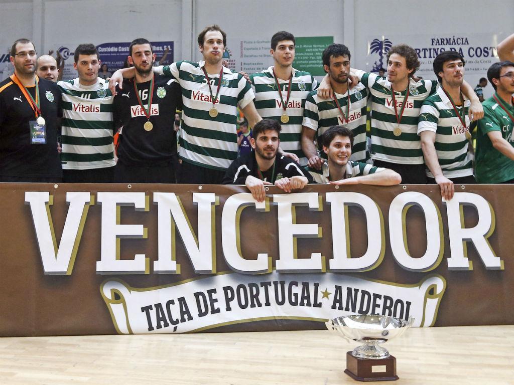Sporting conquista Taça de Portugal de andebol (Lusa)