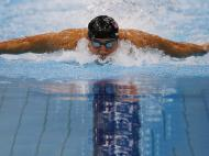 Michael Phelps em Londres 2012 (REUTERS)